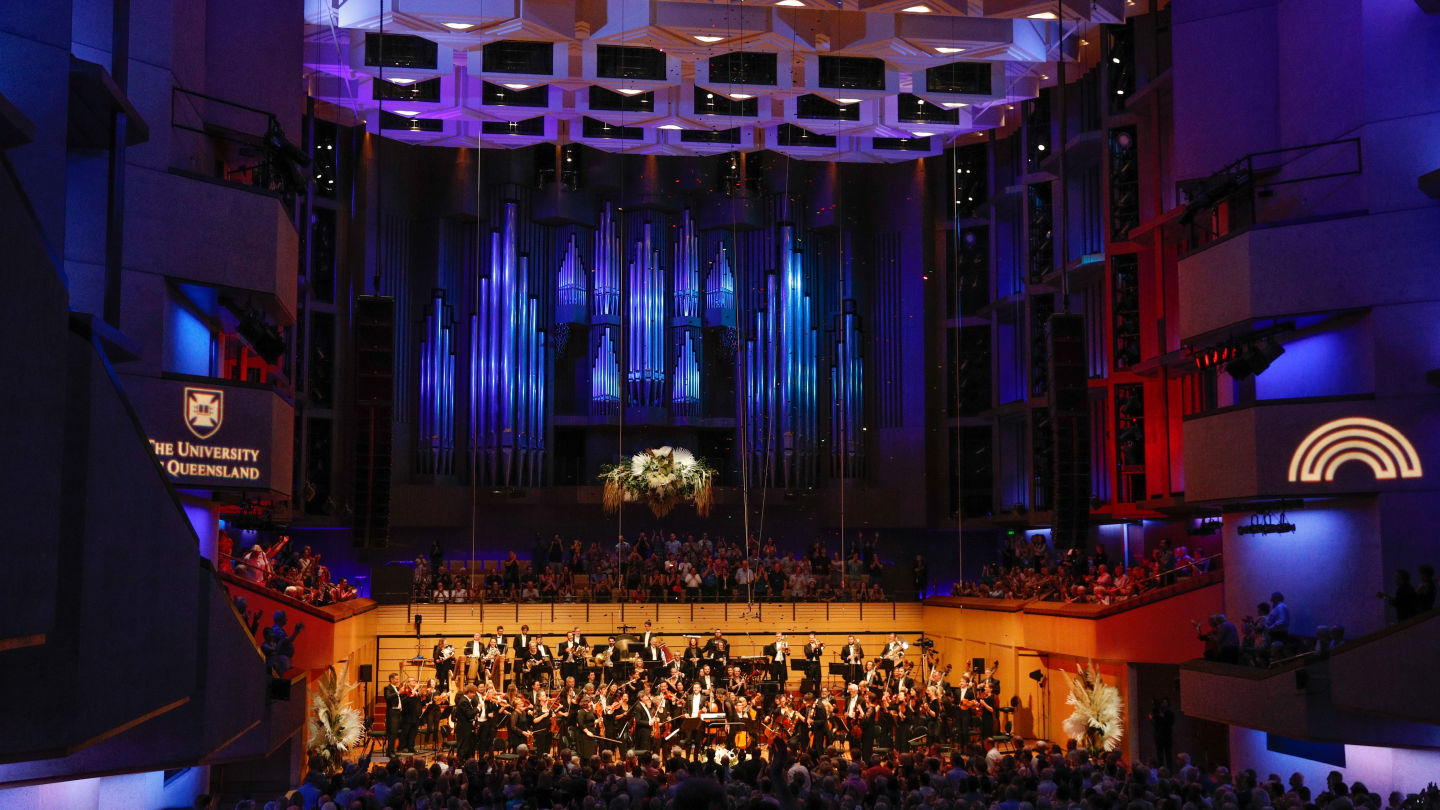 The University of Queensland and Queensland Symphony Orchestra  partnership to play on