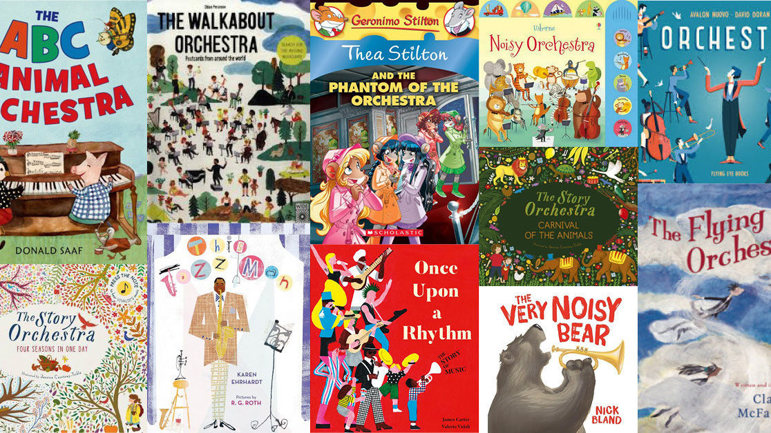 Our Favourite Children's Music Books