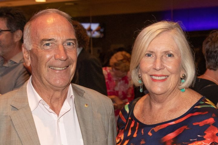 Mrs Francis and Mr Stephen Maitland OAM RFD
